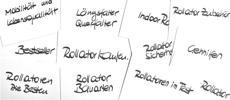 Rollator - Rollatoren und Gehhilfen